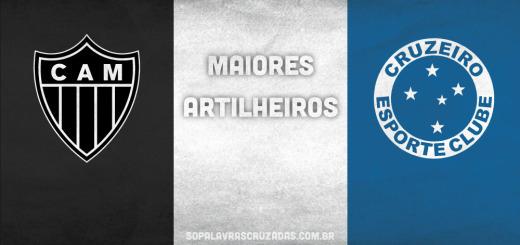 Palavras Cruzadas - Atlético x Cruzeiro - Artilheiros