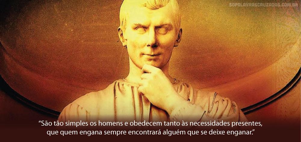 Palavras Cruzadas - Nicolau Maquiavel