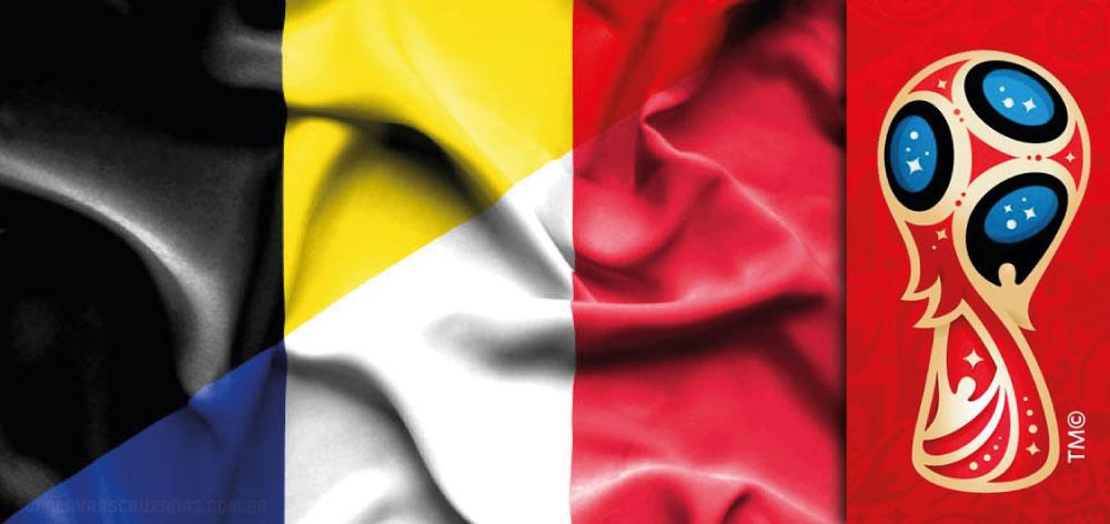 Caça Palavras - França x Bélgica